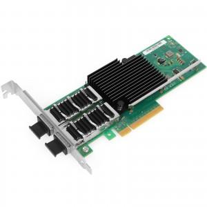 Vogzone 40G QSFP+ Network Card Dual Port Intel XL710 Chip PCI-E 3.0 X8 40 Gigabit Ethernet Server NIC Compare to Intel XL710-QDA2