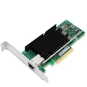 Intel X540-T1 Single-Port 10 Gigabit Copper RJ45 PCIe 2.1 X8, Ethernet Network Interface Card
